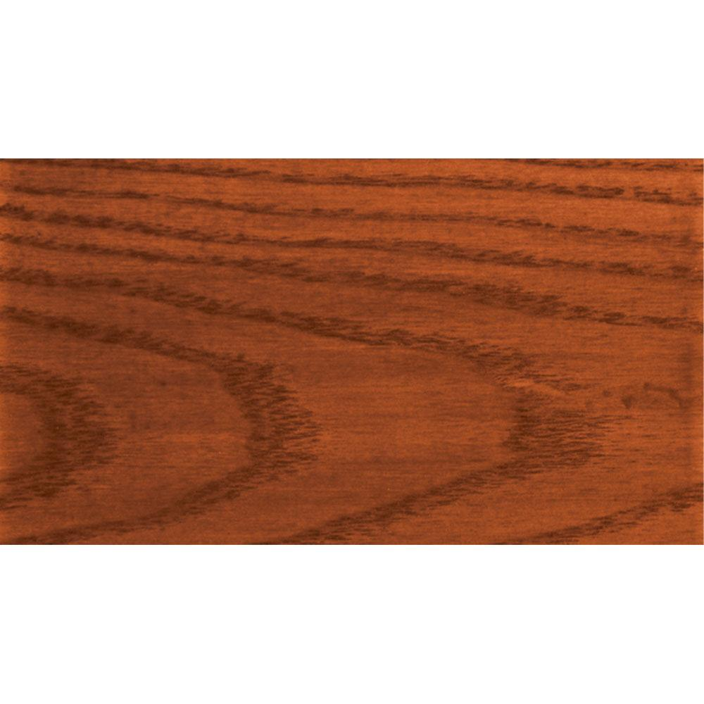 Sansin Canyon Red 1103 Exterior Wood Stain Colour on pine.