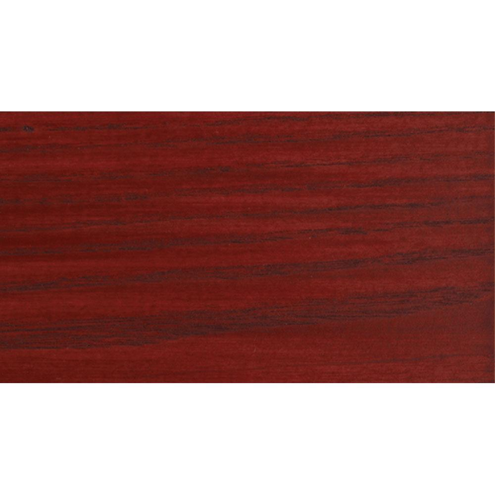Sansin Crimson 1108 Exterior Wood Stain Colour on pine.
