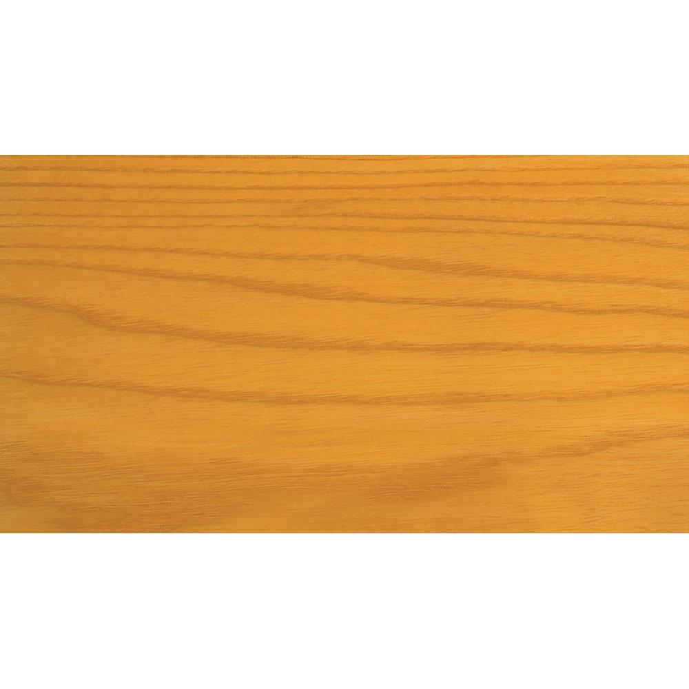 Sansin Light Honey 15 Exterior Wood Stain Colour on pine.