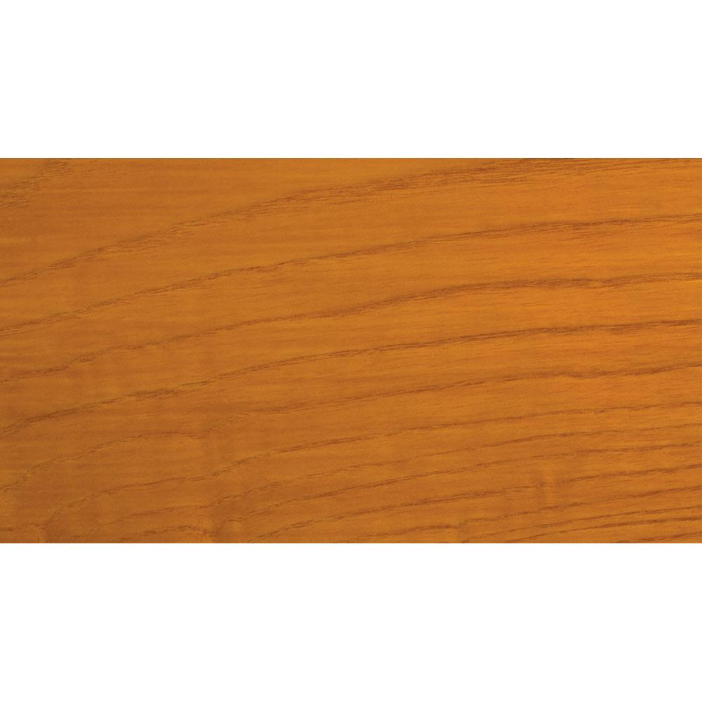 Sansin Autumn Gold 16 Exterior Wood Stain Colour on pine.