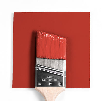 Wet and dry colour sample of Benjamin Moore 2007-20, Shy Cherry.