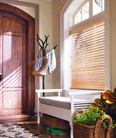 Hunter Douglas Window Treatments Everwood front entrance