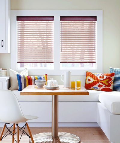 Hunter Douglas Window Treatments Natural Elements Dining Area