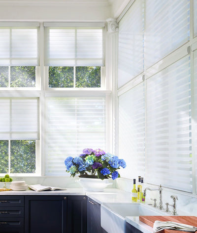 Hunter Douglas Window Treatments Silhouette Kitchen