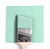 Benjamin Moore Colour 2036-60 Surf Green wet, dry colour sample.