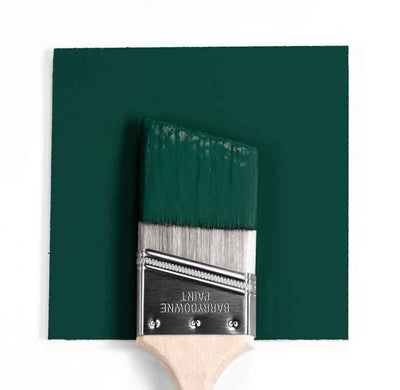 2041-10 Hunter Green Paint Brush Mock Up