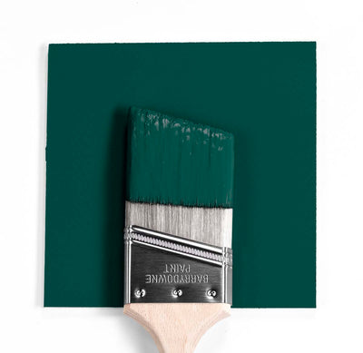 2047-10 forest green Paint Brush Mock Up