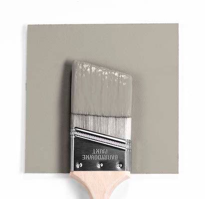 Benjamin Moore Colour 2108-50 Silver Fox Brush mock up