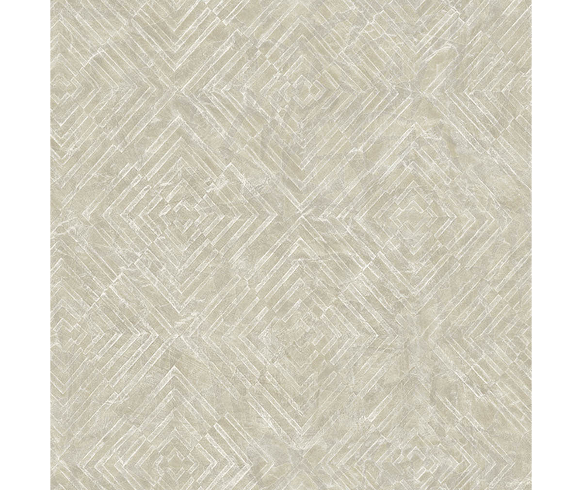 Labyrinth Platinum Geometric Wallpaper available at Barrydowne Paint