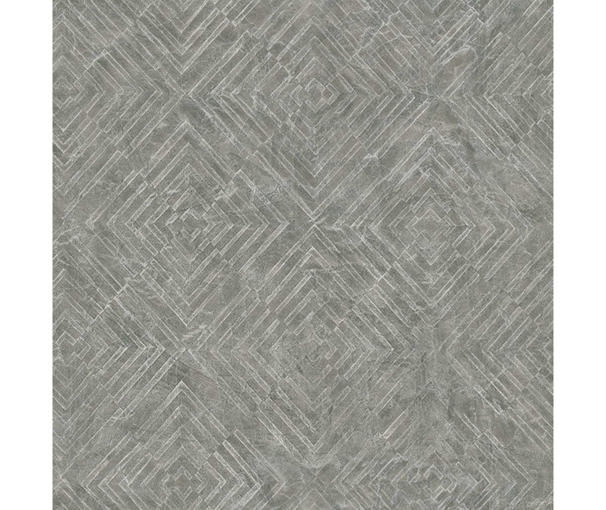 Labyrinth Pewter Geometric Wallpaper available at Barrydowne Paint