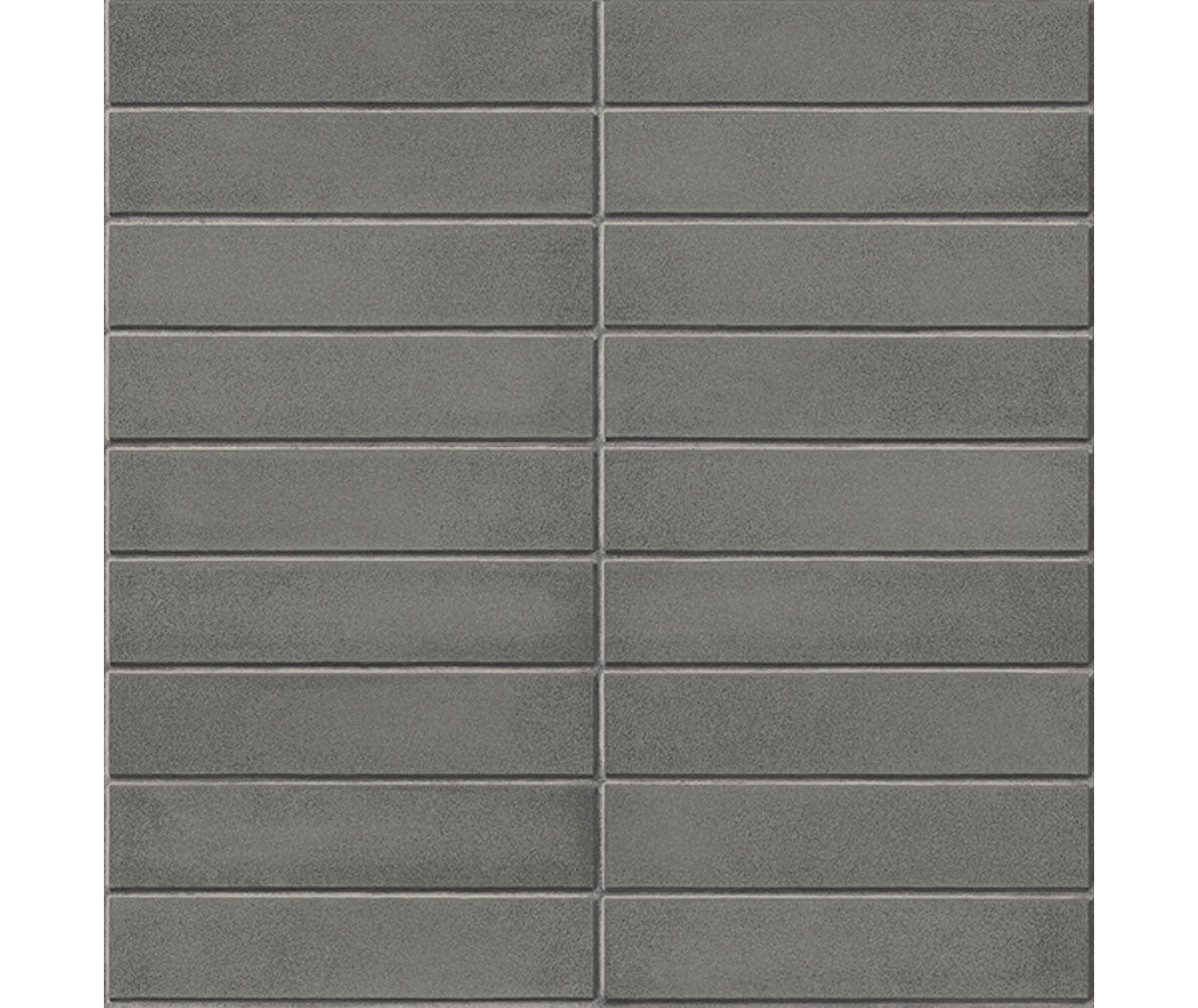 Midcentury Modern Dark Grey Brick Wallpaper available at Barrydowne Paint