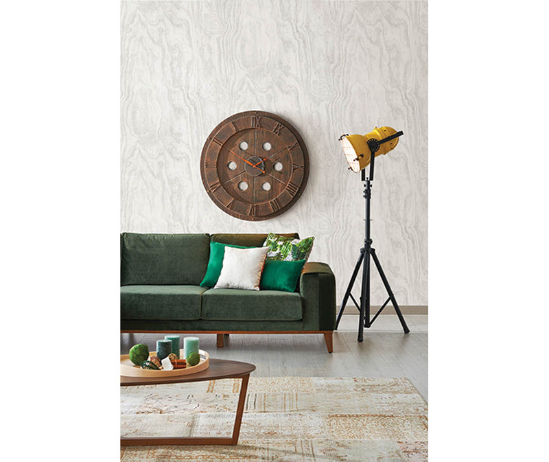 Bentham Dove Plywood Wallpaper available at Barrydowne Paint
