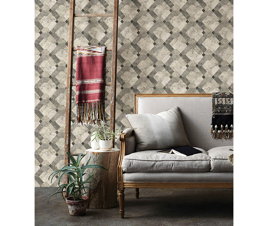Devonshire Grey Marble Wallpaper available at Barrydowne Paint