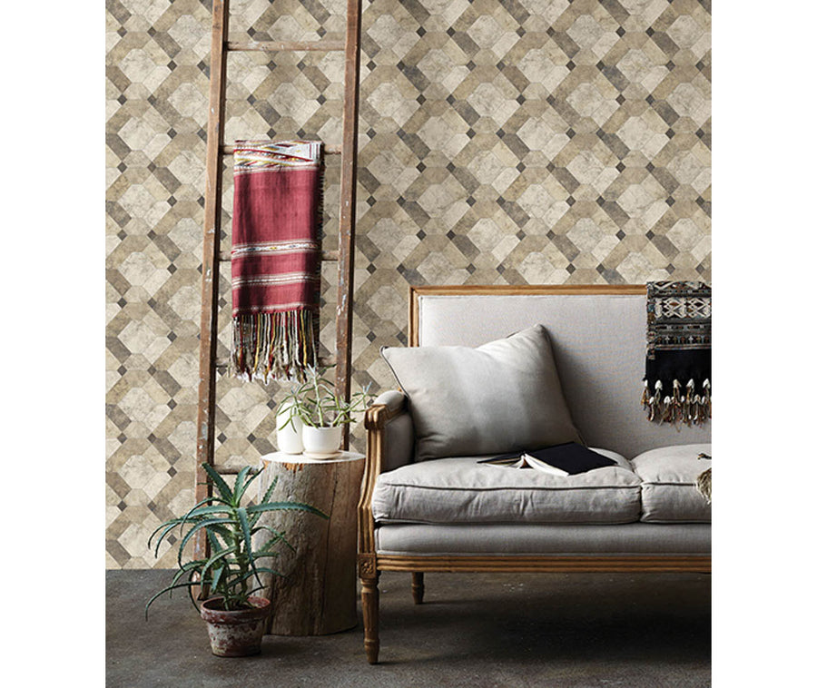 Devonshire Beige Marble Wallpaper available at Barrydowne Paint