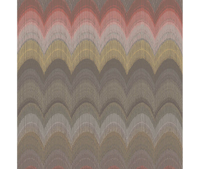 August Brown Wave Wallpaper available at Barrydowne Paint