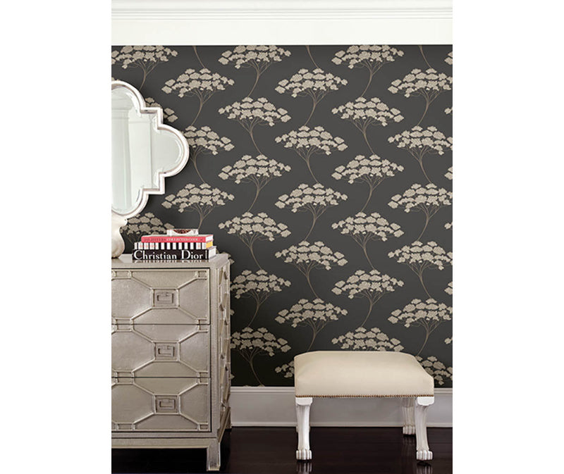Banyan Black Tree Wallpaper available at Barrydowne Paint