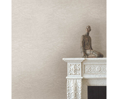 Azmaara Taupe Texture Wallpaper room mock-up available at Barrydowne Paint