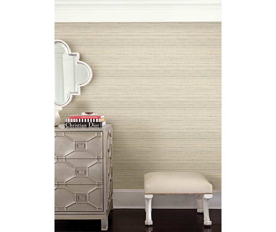 Arakan Beige Stripe Wallpaper available at Barrydowne Paint