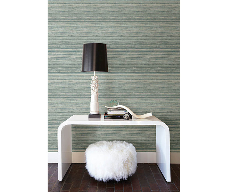 Arakan Green Stripe Wallpaper available at Barrydowne Paint