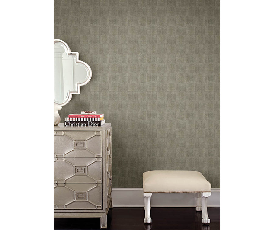 Odyssey Green Wood Wallpaper available at Barrydowne Paint