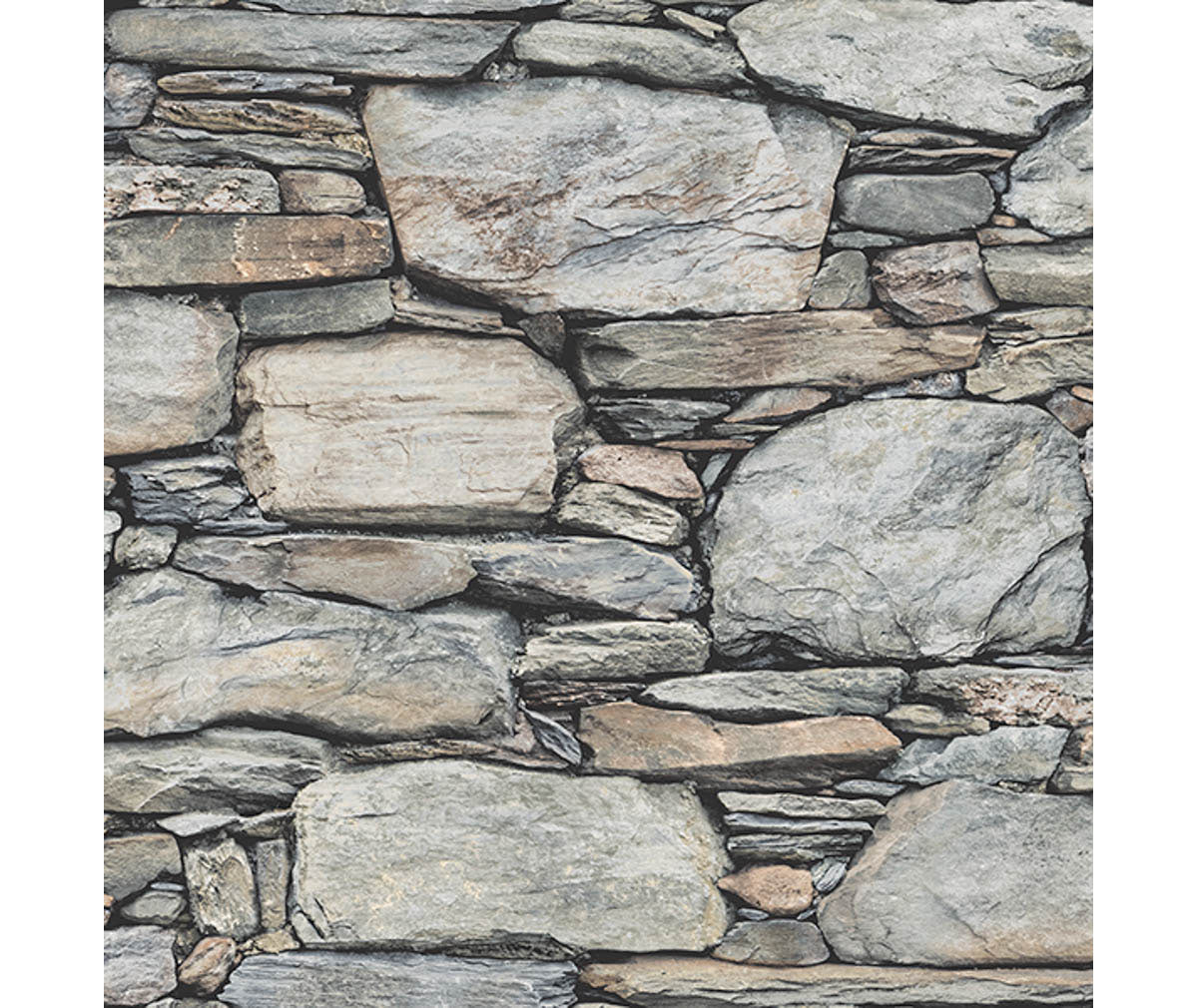 Stone Wall Grey Historic Wallpaper available at Barrydowne Paint