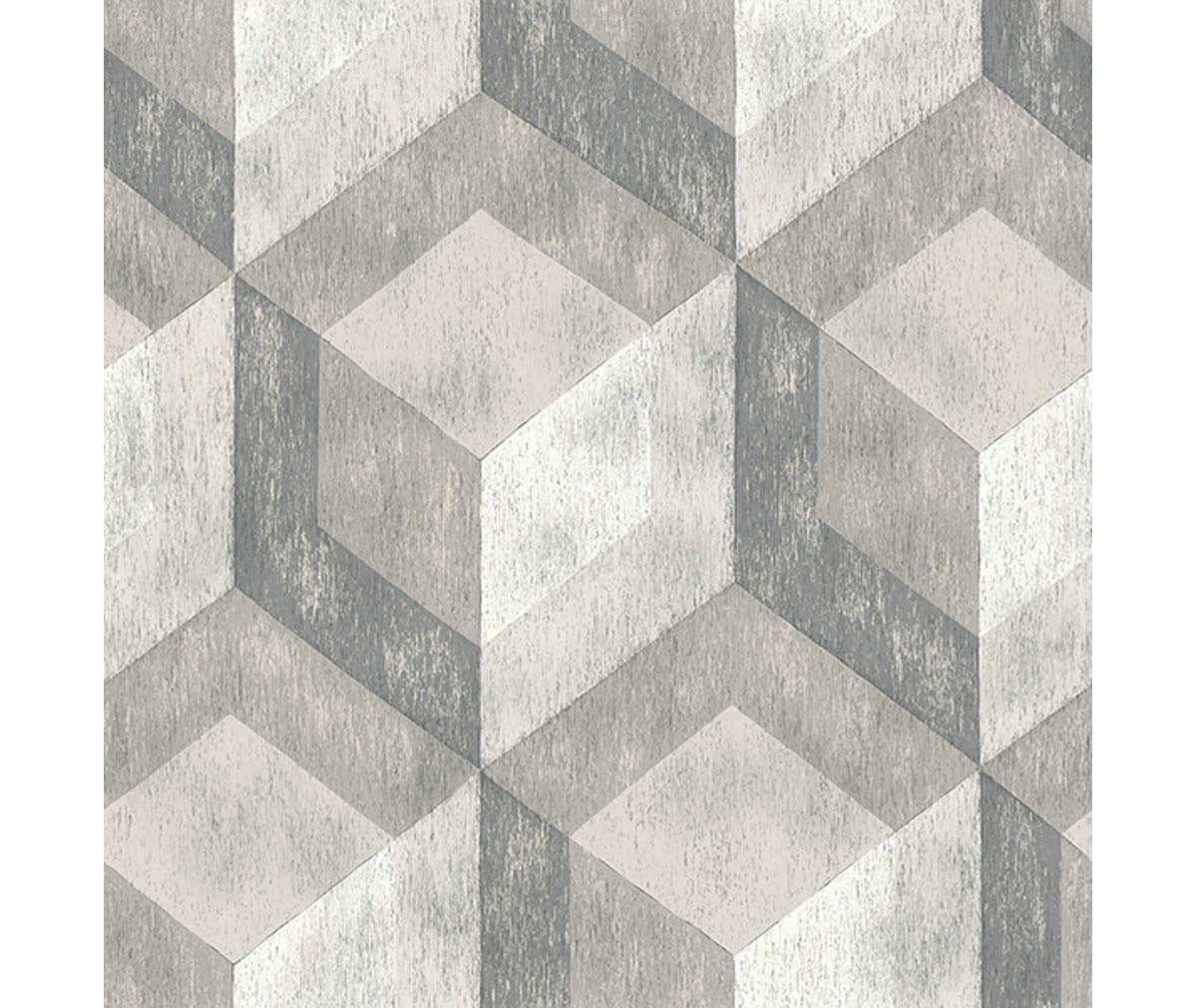 Rustic Wood Tile Ash Geometric Wallpaper available at Barrydowne Paint