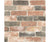 Reclaimed Bricks Dusty Red Rustic Wallpaper available at Barrydowne Paint