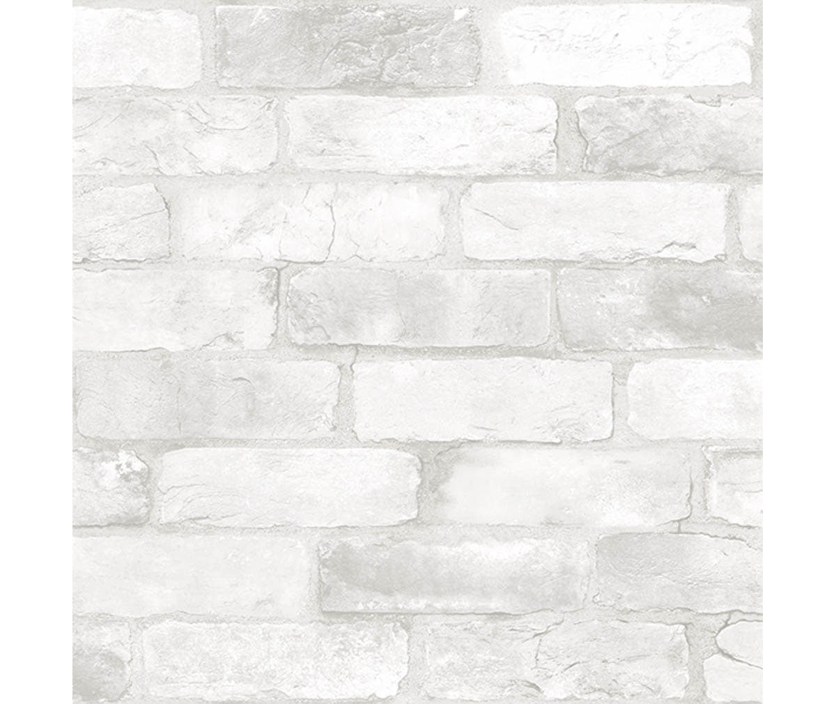 Reclaimed Bricks White Rustic Wallpaper available at Barrydowne Paint