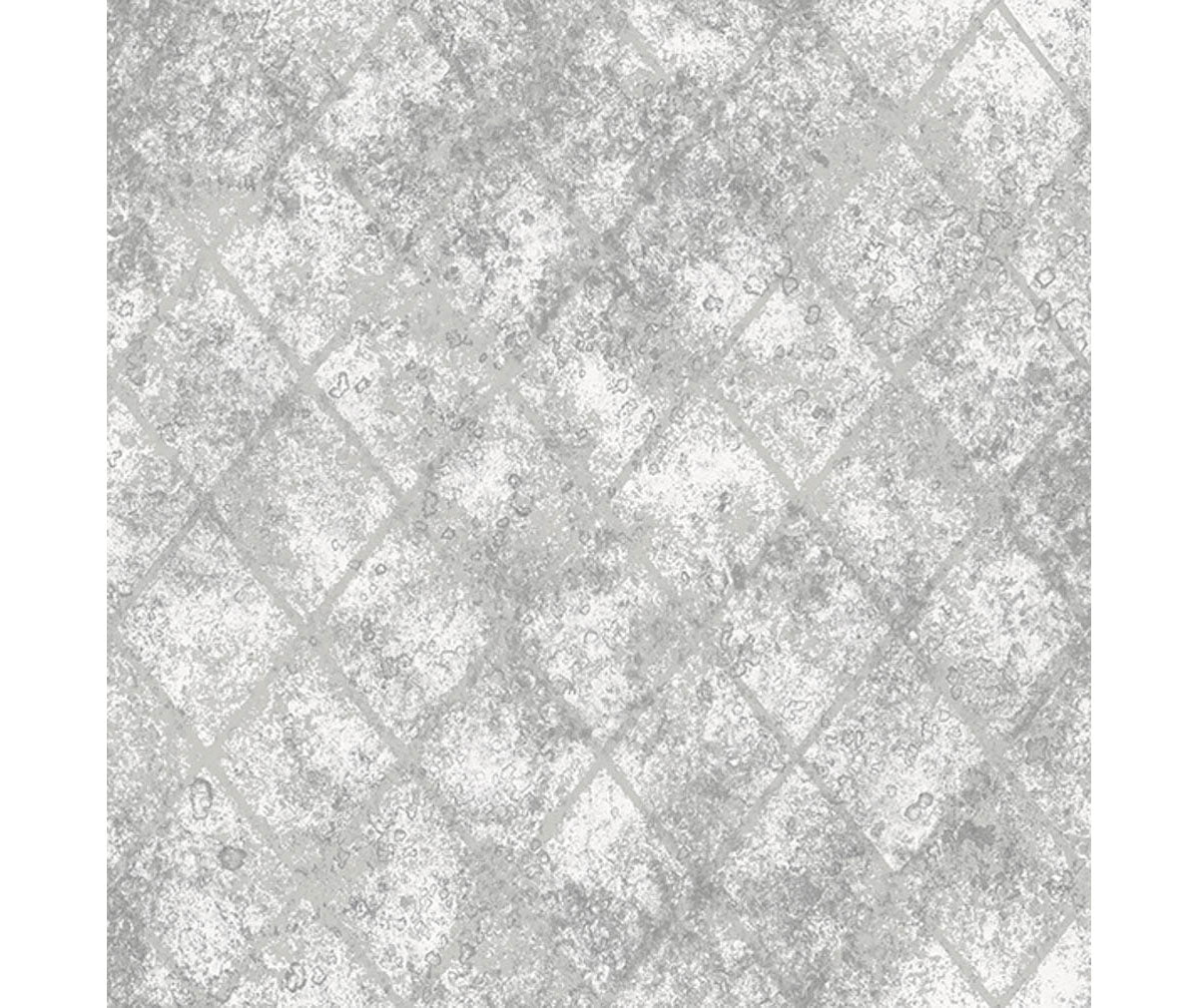 Mercury Glass Silver Distressed Metallic Wallpaper available at Barrydowne Paint