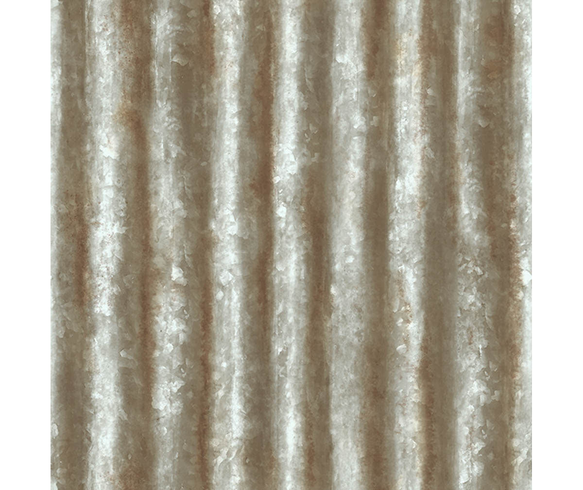 Corrugated Metal Grey Industrial Texture Wallpaper available at Barrydowne Paint