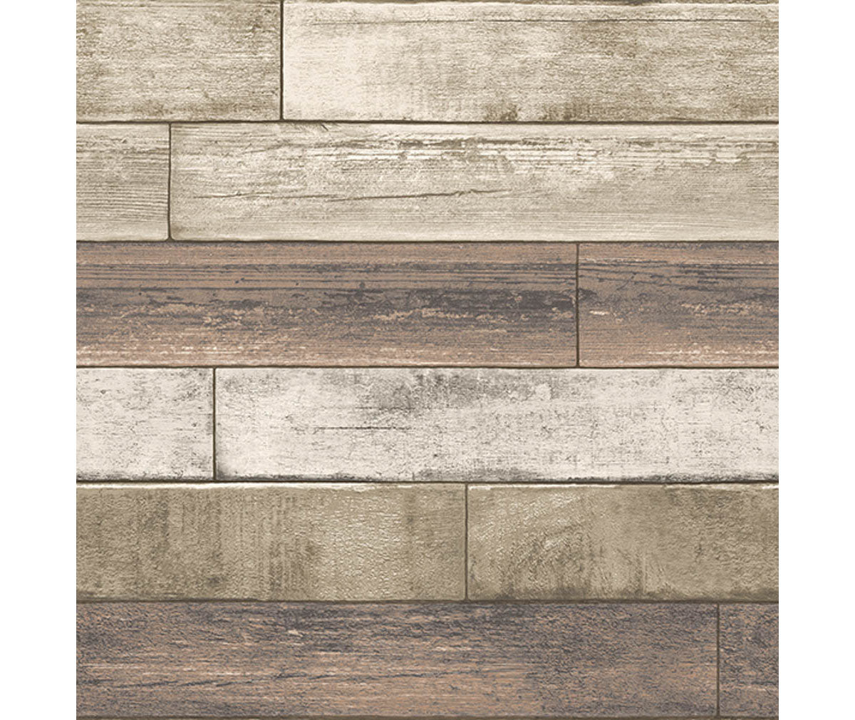 Weathered Plank Rust Wood Texture Wallpaper available at Barrydowne Paint