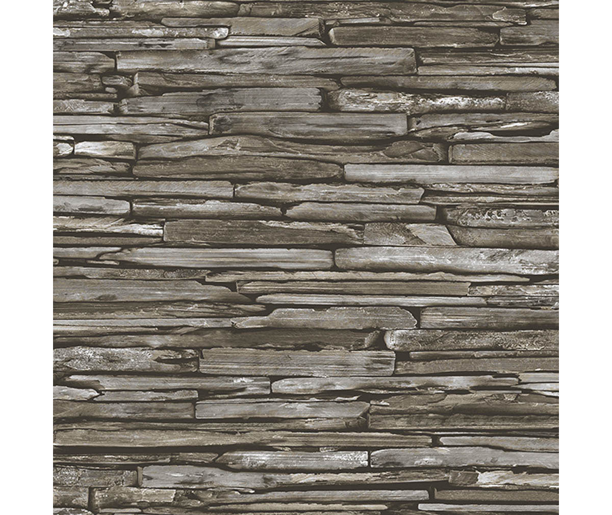 Stacked Slate Green Industrial Wallpaper available at Barrydowne Paint