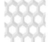 Hex Grey Geometric Wallpaper available at Barrydowne Paint