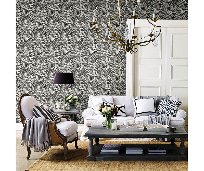 Splendid Platinum Animal Print Wallpaper available at Barrydowne Paint