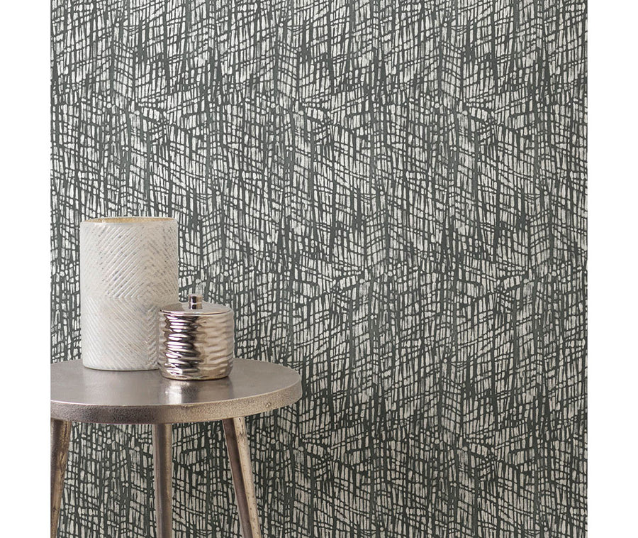 Shimmer Grey Abstract Texture Wallpaper available at Barrydowne Paint