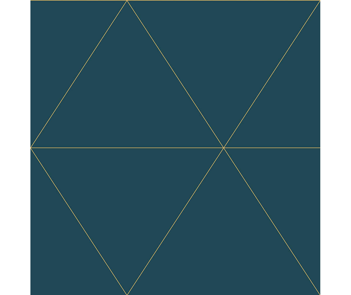Twilight Teal Geometric Wallpaper available at Barrydowne Paint