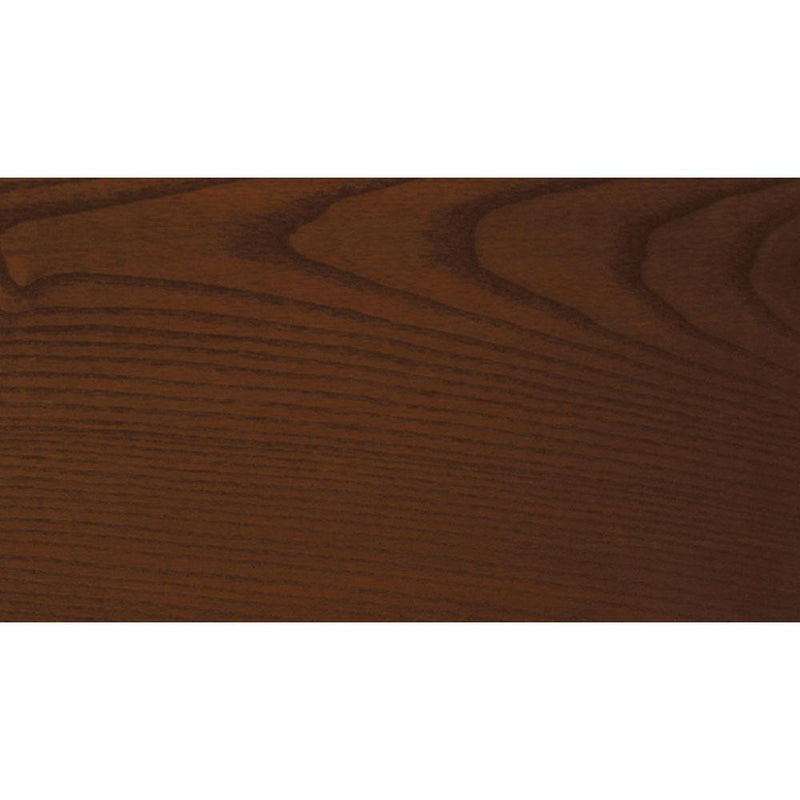 Sansin Rosewood 35 Exterior Wood Stain Colour on pine.
