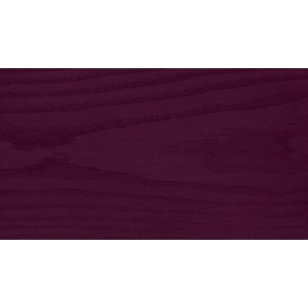 Sansin Burgundy 59 Exterior Wood Stain Colour on pine.