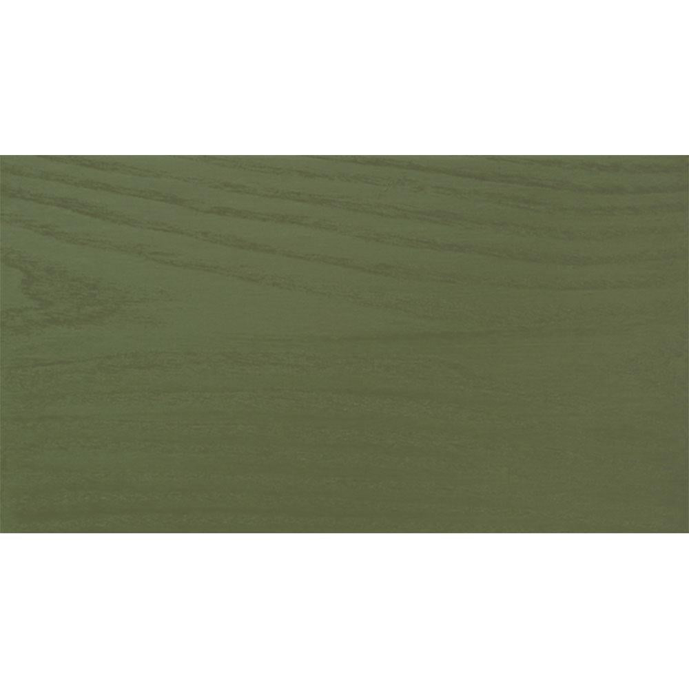 Sansin Moss Green 66 Exterior Wood Stain Colour on pine.