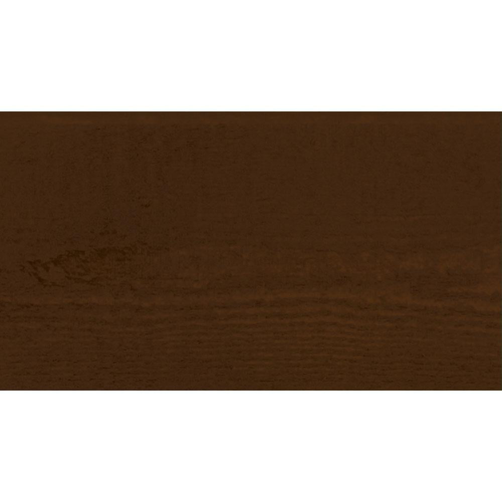 Sansin Walnut 70 Exterior Wood Stain Colour on pine.