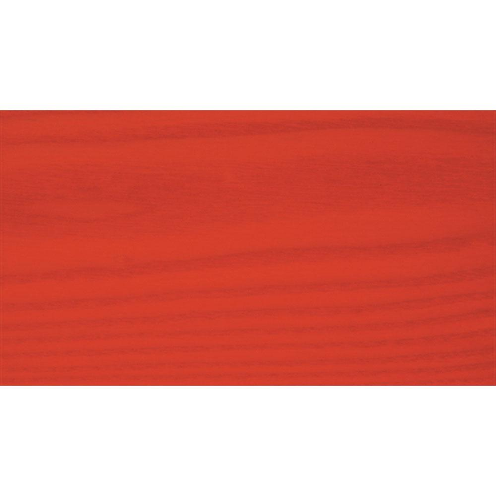 Sansin Deep Orange 86 Exterior Wood Stain Colour on pine.