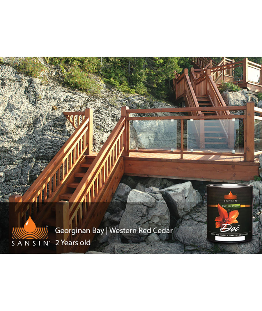 Sansin DEC Wood Stain for Decks