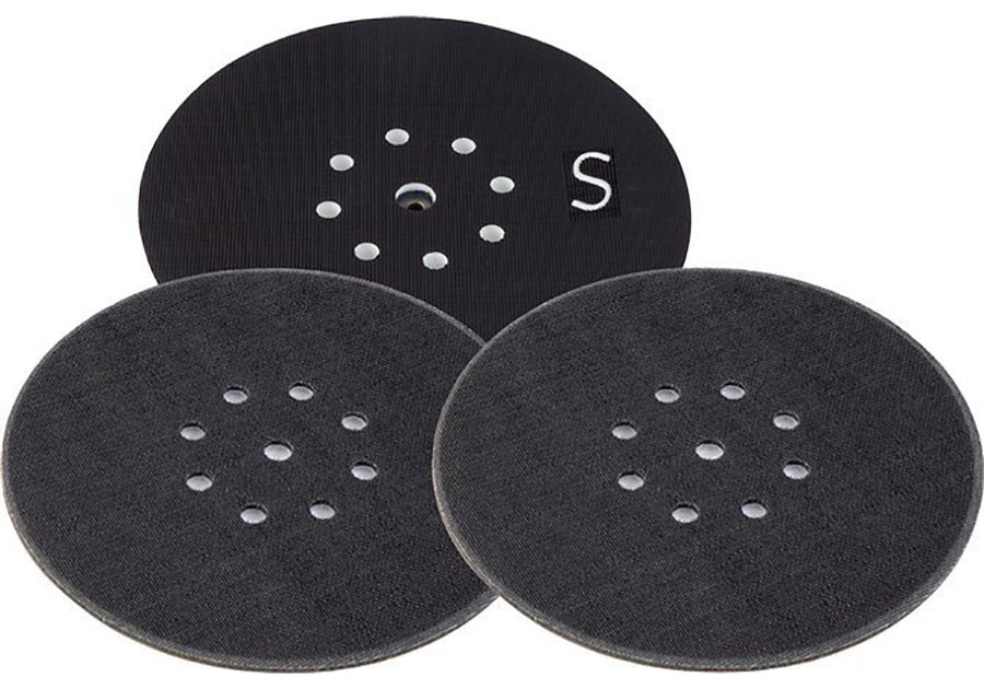 Super Soft, Interface Sander Backing Pad for PLANEX LHS 225 Drywall Sander, D225
