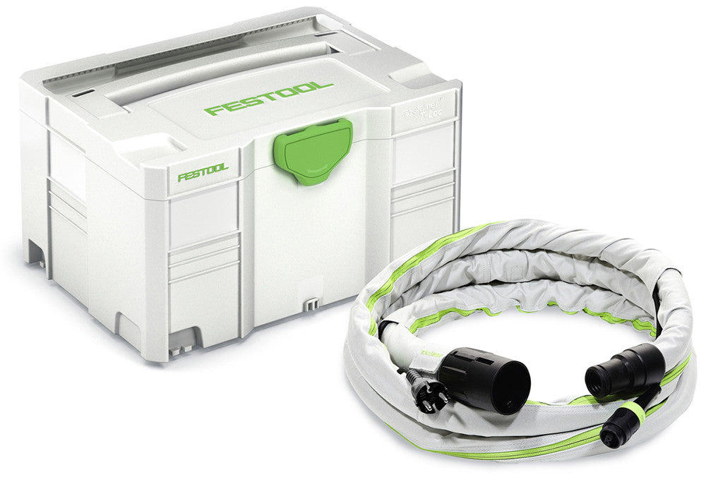 Festool Anti-Static Hose With Integrated Plug-It Cord 3.5m available at Barrydowne Paint
