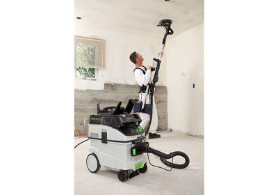 Festool Drywall Sander LHS 225 EQ-Plus with extractor available at Barrydowne Paint
