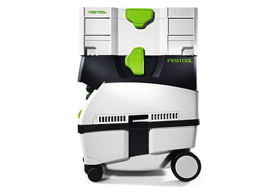 FestoolCT MINI 1200W 10L 130CFM Dust Extractor side view available at Barrydowne Paint