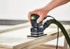 RTS 400 EQ Orbital Finish Sander in use