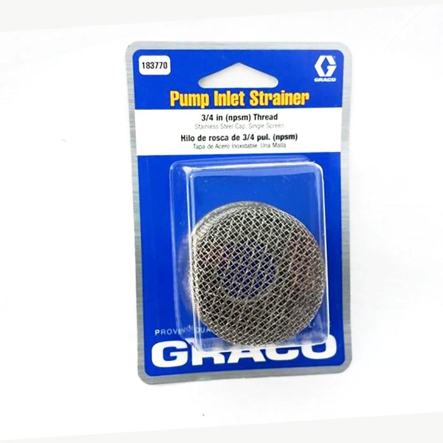 "GRACO INLET STRAINER 3/4"" THREAD"