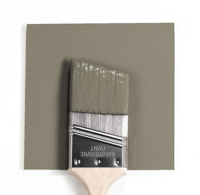 Benjamin Moore Colour HC-104 Copley Gray wet, dry colour sample.