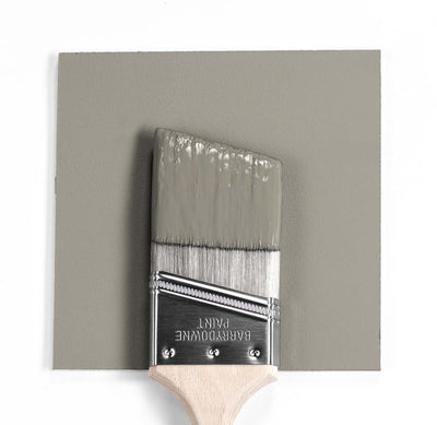 Benjamin Moore Colour HC-105 Rockport Gray wet, dry colour sample.